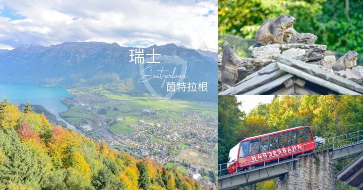 【瑞士自由行】茵特拉根 Interlaken景點及住宿推薦-搭纜車去哈德昆觀景台、動物園看羱羊